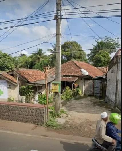 Tanah Luas Pinggir Jalan di Jalan Raya Cibungbulang